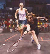 El Sherbini becomes youngest woman to win squash worlds