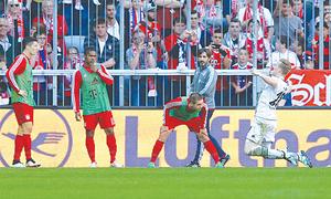 Bayern's Bundesliga title celebrations put on ice after Gladbach draw