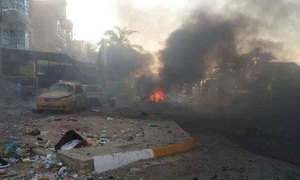IS car bombs kill at least 14 in southern Iraq