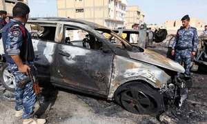 عراق: خود کش حملوں میں 33 افراد ہلاک