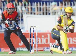 Ton-up Fakhar helps KP set Punjab tough chase in final