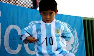 After growing threats, Afghanistan's 'junior Messi' now lives in Quetta