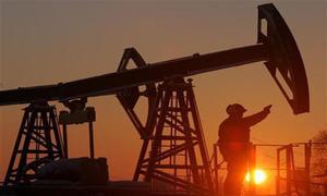 Oil market falls sharply
