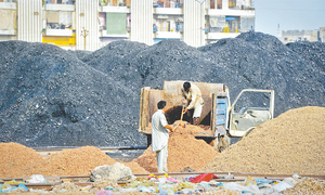 Coal being dumped in open poses health, safety hazards