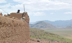 Fall of Afghan highway reveals virulent power struggle