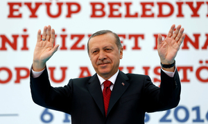 Turkey's Erdogan rebuffs EU on terrorism law; 'we're going our way, you go yours'