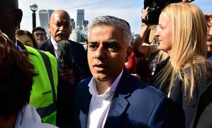 Sadiq Khan poised to become first Muslim mayor of London