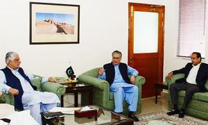PM's aides discuss opposition's demand