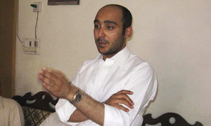 Ali Haider Gilani recovered from Afghanistan after three years