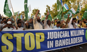 Pakistan accuses Bangladesh of 'killing' opposition leaders through flawed trials
