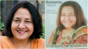 Ameena Saiyid's biography A Fountain of Knowledge launched