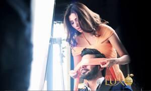 Fawad, Mahira Khan cozy up in new Lux perfume ad