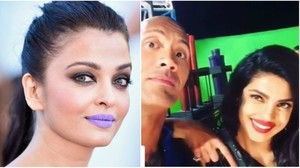 This week in pictures Aishwarya 'rocks' a purple lip and Priyanka finds a catchphrase