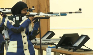 Minhal to become first female shooter representing Pakistan at Olympics