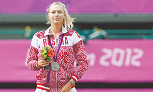 Suspended Sharapova named in Russian Olympic team