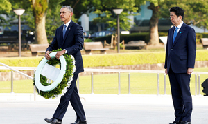 Obama makes history with Hiroshima visit
