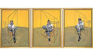 Artichive: 'Three Studies of Lucian Freud'