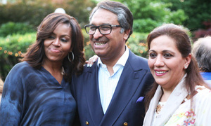 Michelle Obama visits Pakistan Embassy in DC for first time