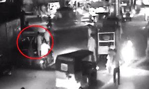 متحدہ کارکنان کے قتل کی سی سی ٹی وی فوٹیج