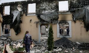 یوکرین کے اولڈ ہاؤس میں آتشزدگی، 17 افراد ہلاک