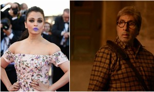"""What's wrong with that?"" Amitabh Bachchan defends Aishwarya's purple lips"
