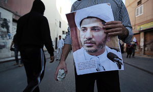 Bahrain doubles opposition leader jail term