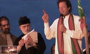 Islamabad ATC issues arrest warrants for Imran Khan, Tahirul Qadri