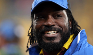 Windies batsman Chris Gayle wishes Nawaz Sharif well for surgery