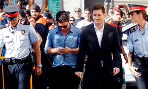 Messi absent as his tax fraud trial opens in Spain