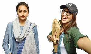 Here's what Sonakshi's going to look like in 'Karachi, You're Killing Me'