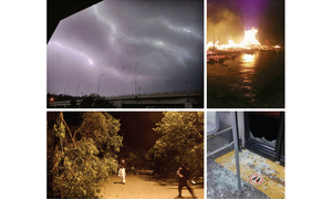 Five killed as thunderstorm hits twin cities
