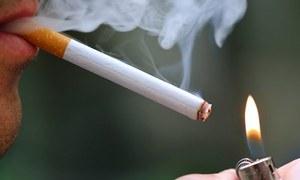 کے پی: عوامی مقامات پرتمباکو نوشی پرپابندی کا فیصلہ