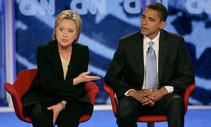 صدارتی نامزدگی،اوباما کی ہیلری کی باضابطہ حمایت