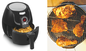 Air frying vs deep frying