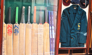 Pakistan's only cricket museum — Guarding the wicket for the Gentleman's Game