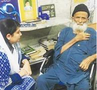 Aseefa meets ailing Edhi