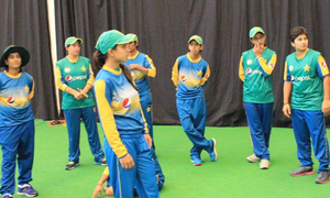 Pakistan women cricket team trains ahead of England ODIs, T20s