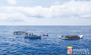 Over 2,000 migrants rescued at sea