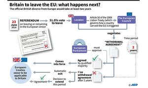 Brexit bolt hurls European Union into the unknown