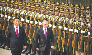 China, Russia eye closer friendship amid tensions with West
