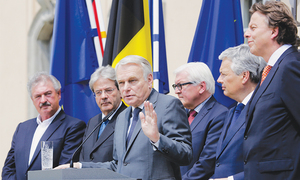 Embittered EU powers demand fast divorce from Britain