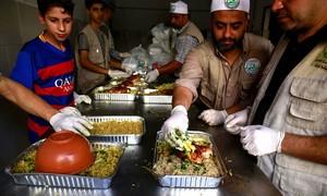 Ramazan soup kitchen offers brief respite to Gaza's hungry