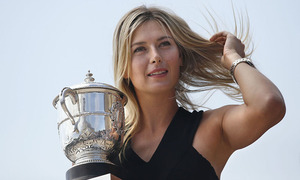 Is tennis star Sharapova headed to Harvard?