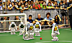 Rise of the machines: Pakistani roboteers hunt global football glory