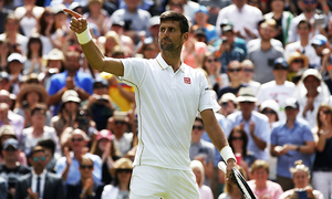 Djokovic races through Wimbledon opener