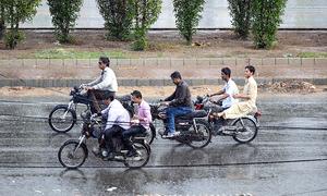 Karachi sees first monsoon rainfall