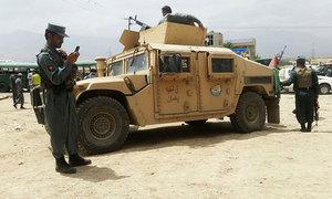 کابل میں پولیس کے قافلے پرخودکش حملہ،27 ہلاک