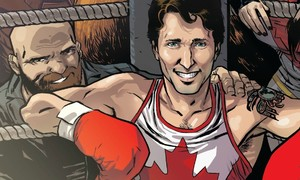 Next on Justin Trudeau's agenda: be a Marvel hero!