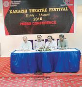 Karachi theatre festival to begin on 22nd