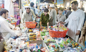 Eid shopping reaches its peak in Peshawar